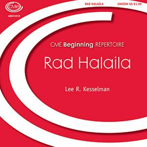 Lee R. Kesselman Rad Halaila cover art