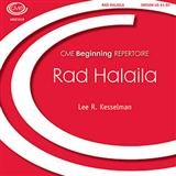 Rad Halaila sheet music by Lee R. Kesselman
