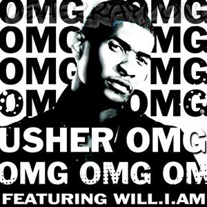 Usher OMG (feat. will.i.am) cover art