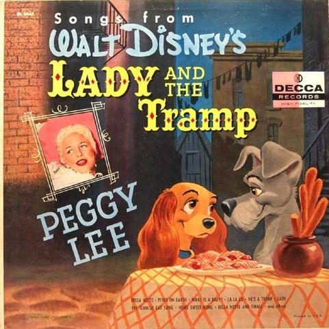 Peggy Lee He's A Tramp cover art