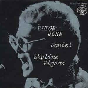 Elton John Skyline Pigeon cover art