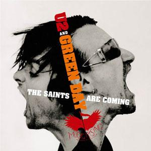 U2 & Green Day The Saints Are Coming cover art