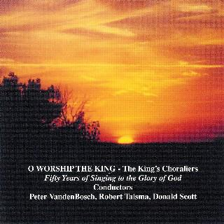 William Gardiner O Worship The King cover art