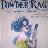 Powder Rag sheet music by Raymond Birch