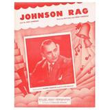 Johnson Rag sheet music by Henry Kleinkauf