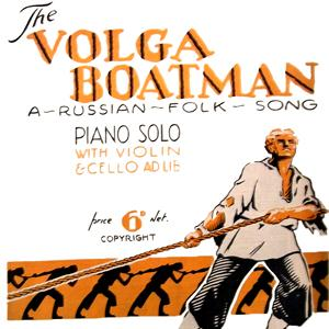 Russian Folksong Song Of The Volga Boatman cover art
