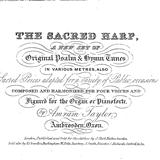 The Sacred Harp:Beach Spring (Lord, Whose Love In Humble Service)