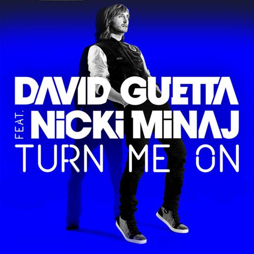 David Guetta Turn Me On (feat. Nicki Minaj) cover art