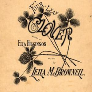 Leila M. Brownell Four-Leaf Clover cover art