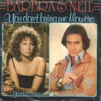 Neil Diamond You Don't Bring Me Flowers cover art