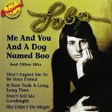 Me And You And A Dog Named Boo sheet music by Lobo