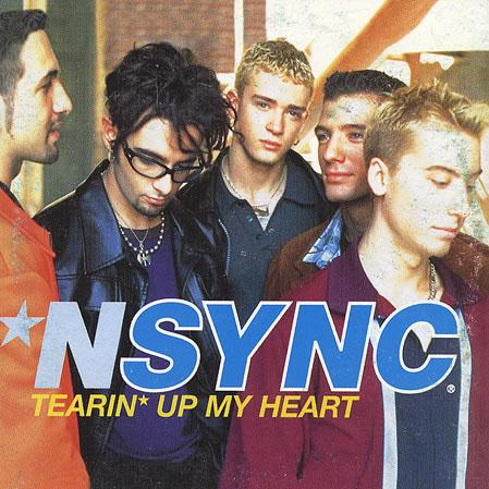 'N Sync Tearin' Up My Heart cover art