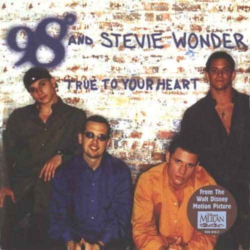 98 Degrees True To Your Heart (Pop Version) (feat. Stevie Wonder) cover art