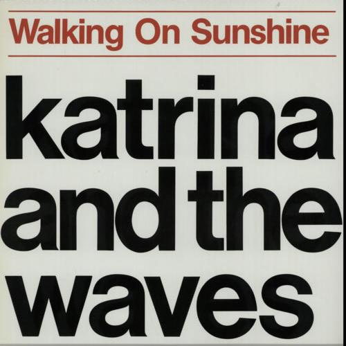 Katrina & The Waves Walking On Sunshine cover art
