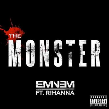 Eminem The Monster (feat. Rihanna) cover art