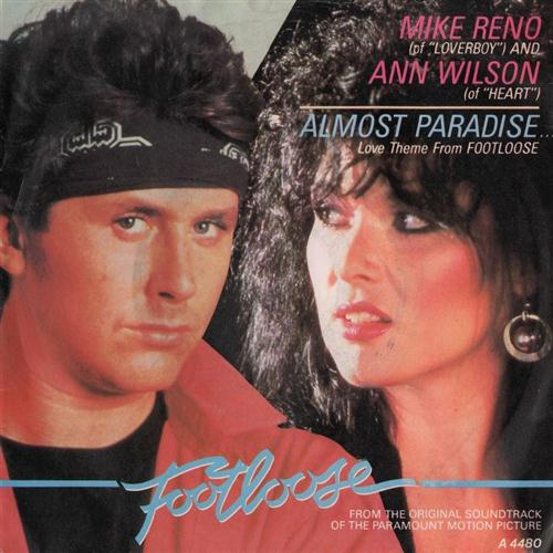 Ann Wilson & Mike Reno Almost Paradise cover art