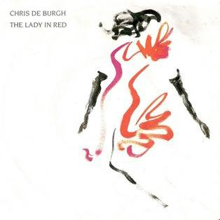 Chris DeBurgh Lady In Red cover art