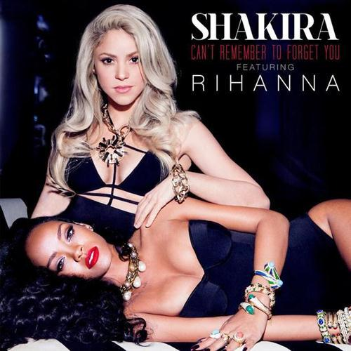 Shakira Can't Remember To Forget You (feat. Rihanna) cover art