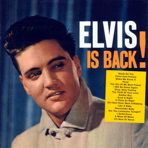Elvis Presley It's Now Or Never cover art