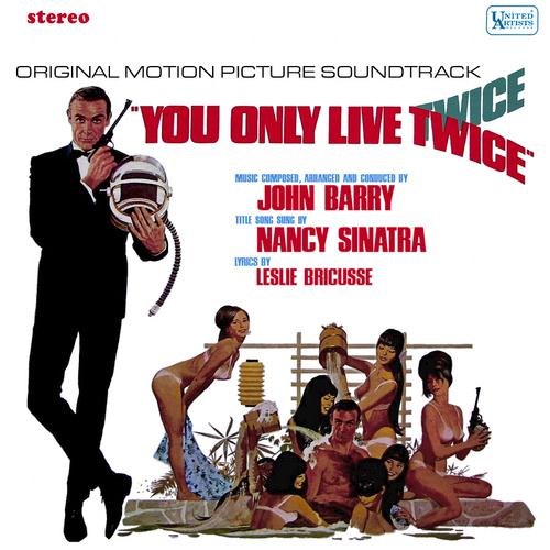 Nancy Sinatra You Only Live Twice (theme from the James Bond film) cover art
