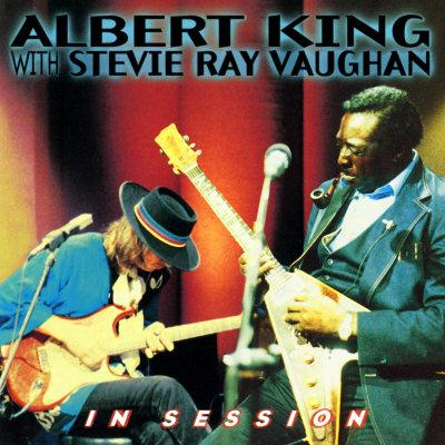 Albert King & Stevie Ray Vaughan Match Box Blues cover art