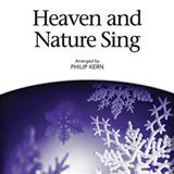 Heaven And Nature Sing sheet music by Philip Kern