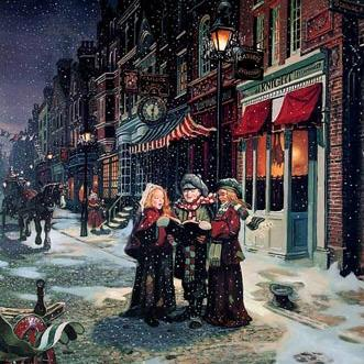 Richard Friedman Here We Come A-Caroling cover art
