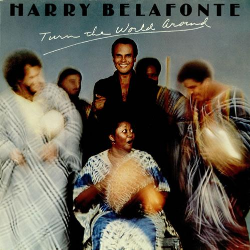 Harry Belafonte Turn The World Around cover art