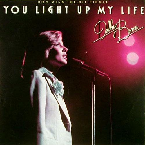 Debby Boone You Light Up My Life cover art