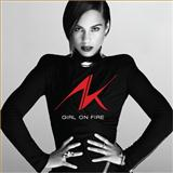 Girl On Fire (Inferno Version) (feat. Nicki Minaj) sheet music by Alicia Keys
