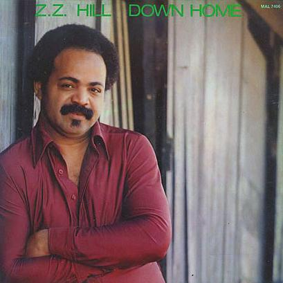 Z.Z. Hill Down Home Blues cover art