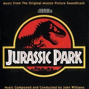 John Williams Theme from Jurassic Park cover art
