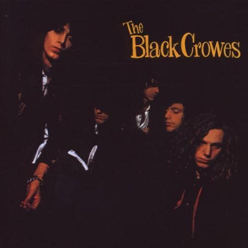 Black Crowes Twice As Hard cover art