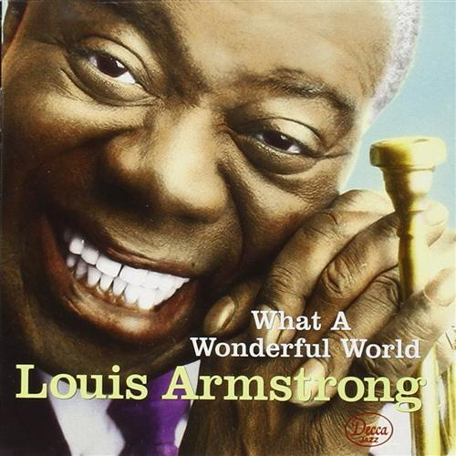 Louis Armstrong What A Wonderful World cover art