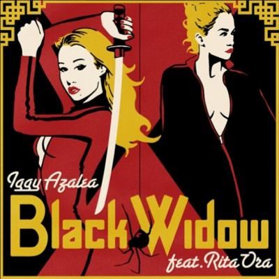 Iggy Azalea Black Widow (feat. Rita Ora) cover art