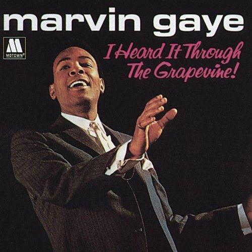 Marvin Gaye I Heard It Through The Grapevine cover art