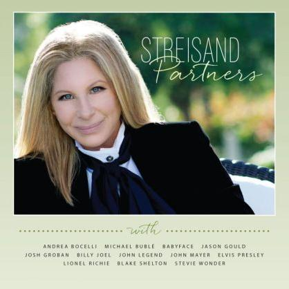 Barbra Streisand and Blake Shelton I'd Want It To Be You cover art