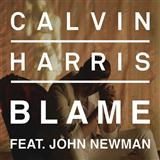 Blame sheet music by Calvin Harris featuring John Newman