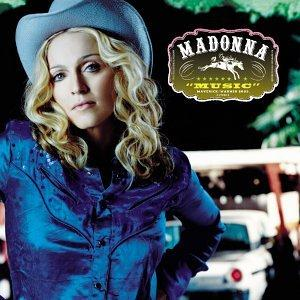 Madonna Music cover art