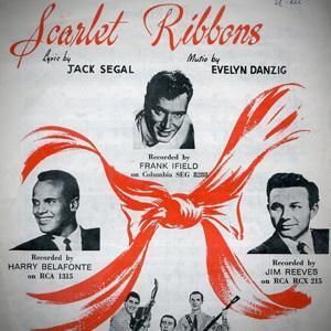Evelyn Danzig Scarlet Ribbons (For Her Hair) cover art