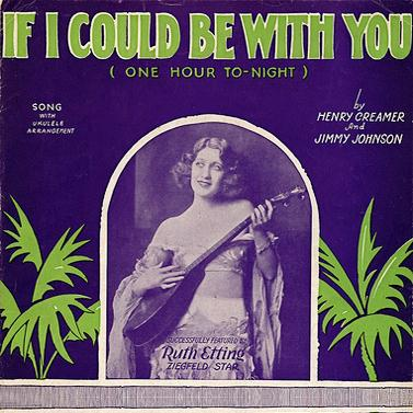 Henry Creamer If I Could Be With You (One Hour Tonight) cover art