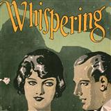 Whispering sheet music by John Schonberger