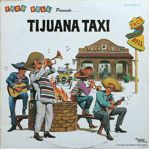 Herb Alpert & The Tijuana Brass Band Tijuana Taxi cover art