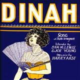Dinah sheet music by Harry Akst