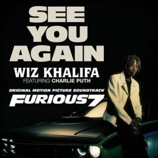 Wiz Khalifa feat. Charlie Puth See You Again cover art