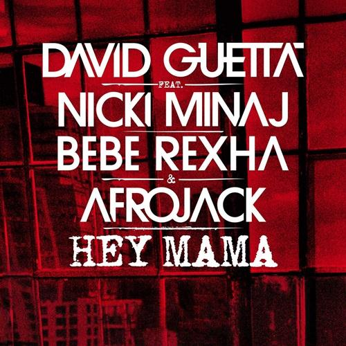 David Guetta Hey Mama (feat. Nicki Minaj & Afrojack) cover art