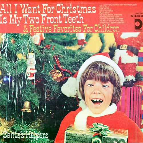 Spike Jones and his City Slickers All I Want For Christmas Is My Two Front Teeth cover art