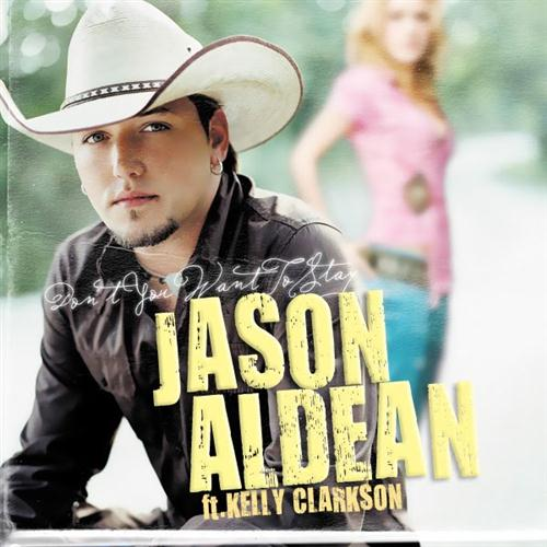 Jason Aldean with Kelly Clarkson Don't You Wanna Stay cover art