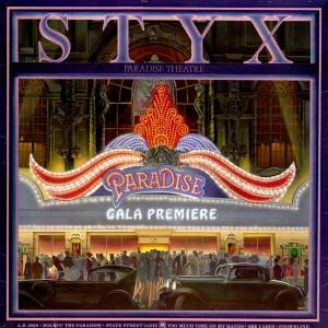 Styx Rockin' The Paradise cover art