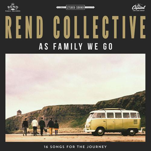 Rend Collective You Will Never Run cover art